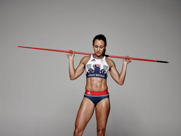 Handout photo provided by Adidas UK of Jessica Ennis-Hill. PRESS ASSOCIATION Photo. Issue date: Wednesday April 27, 2016. Today, adidas revealed the next generation, lightweight kit that the nations greatest sport stars will wear as they compete at the Rio 2016 Olympic and Paralympic Games. Designed by adidas Creative Director Stella McCartney; the Team GB and ParalympicsGB kit is a ground-breaking range of performance wear, combining the very latest in technical innovation with her signature modern design aesthetic. Photo credit should read: Adidas UK/Handout Photo/PA Wire. NOTE TO EDITORS: This handout photo may only be used in for editorial reporting purposes for the contemporaneous illustration of events, things or the people in the image or facts mentioned in the caption. Reuse of the picture may require further permission from the copyright holder.