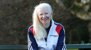 Bench mark: Kelly Gallagher has set high standards on and off the slopes