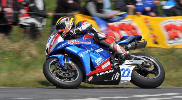 Local hero: Paul Jordan is revved up for a strong performance in this weekend's Cookstown 100