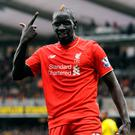 Pointing the finger: Mamadou Sakho's season is effectively over