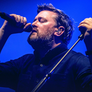 Fine voice: Guy Garvey will be a big draw in Belfast on Sunday evening