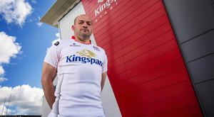 Standing tall: Rory Best says the 26-10 victory over Leinster last season, and even the narrow 8-6 loss at the RDS this campaign, have given Ulster new belief tackling their inter-pro rivals