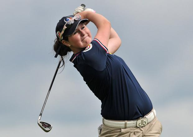 Dream come true: Olivia Mehaffey has been selected for the Great Britain & Ireland Curtis Cup team to take on the United States at Dun Laoghaire in June