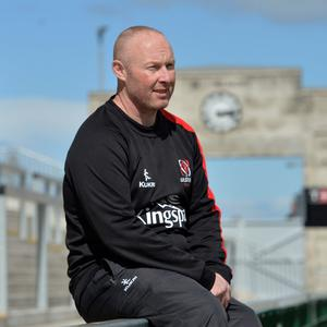 Bit of previous: Neil Doak was in charge when Ulster beat Leinster last season