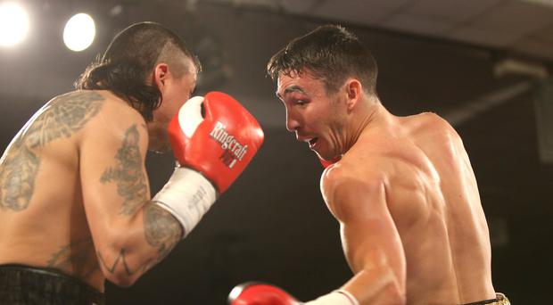 Title tilt: Jamie Conlan is confident of landing the Commonwealth title in London tomorrow night