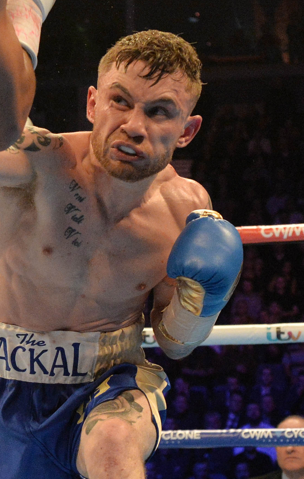 Fired up: Carl Frampton can't wait