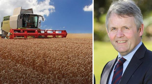 Barclay Bell is an eighth-generation Co Down farmer who is now head of the UFU