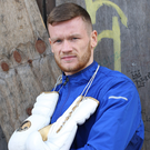 Ready to rumble: James Tennyson is confident he will clinch the British featherweight title in London