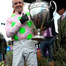 Mag-nificent: Ruby Walsh after winning on Vroum Vroum Mag