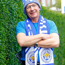 Fantastic Mr Fox: Belfast man John Hill in his Leicester colours
