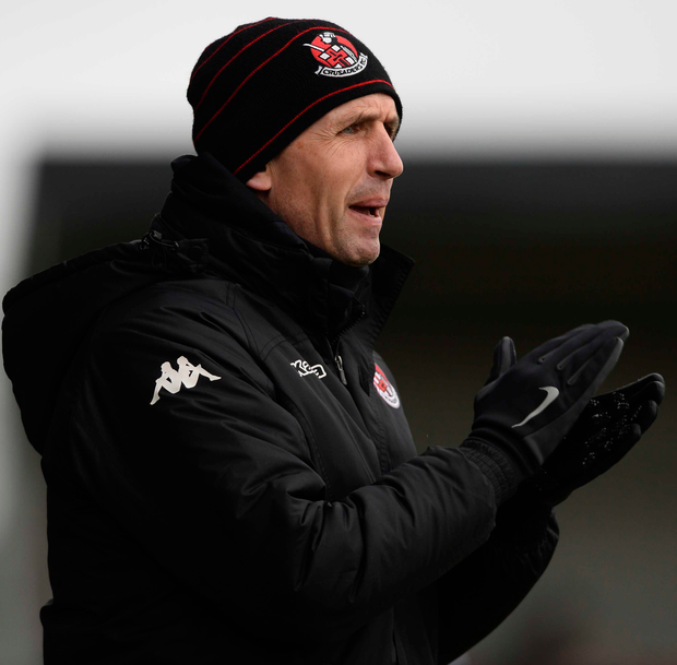 Crusaders manager Stephen Baxter gave his fringe players a game against Glentoran