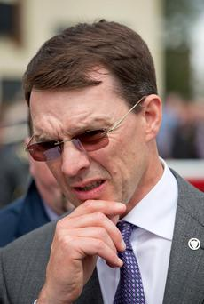 Top: Aidan O'Brien won with Found