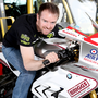 Alastair Seeley and his RAF Reserves/Briggs BMW