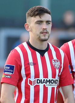 Derry City's Dean Jarvis