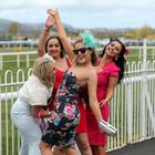 May Day Race Meeting at Down Royal Racecourse, Maze. Sinead Slane, Ciara Hegarty, Shauna Rafferty and Aoife Anderson pictured at the May Day Race Meeting.