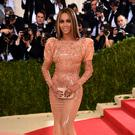 """NEW YORK, NY - MAY 02: Singer Beyonce attends the """"Manus x Machina: Fashion In An Age Of Technology"""" Costume Institute Gala at Metropolitan Museum of Art on May 2, 2016 in New York City. (Photo by Dimitrios Kambouris/Getty Images)"""