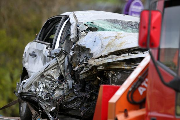 One man was killed in the crash. Photographer Matt Mackey Press Eye