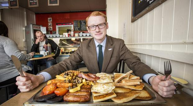 Wood V Food. Sunday Life reporter Chris Woodhouse takes on his latest eating challenge