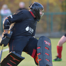 Big loss: The IHL will be a worse place without the talents of Cookstown and their long-serving goalkeeper Ian Hughes