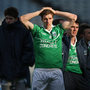 Paying the price: Fermanagh's Eoin Donnelly tore his hamstring after playing three games in 24 hours