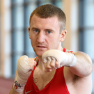 Going for gold: Paddy Barnes believes he can stand on top of the podium in Rio after winning bronze at two previous Olympics