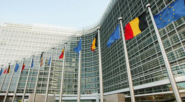 The Berlaymont building, the headquarters for the European Commission