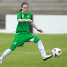 In form: Linfield's Kirsty McGuinness