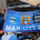 Manchester City fans in Madrid ahead of the UEFA Champions League Semi Final, Second Leg match between Real Madrid and Manchester City. PA