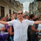 US actor Vin Diesel arrives at the Prado promenade in Havana, on May 3, 2016 to watch the Chanel performance. AFP/Getty Images