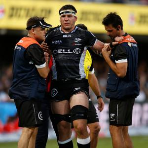Injured star: Marcell Coetzee