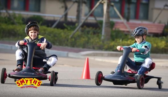 Smyths is recalling the 24V Turnado Drift go-kart. Photo: Smyths/YouTube