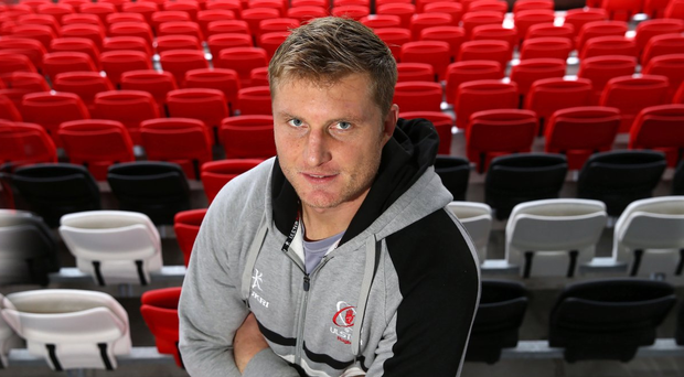 Standing tall: Franco van der Merwe is ready to keep pushing himself to the limit as Ulster aim to clinch a top four finish and a play-off