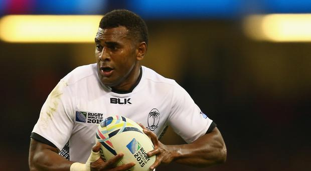 Familiar face: Former Ulster star Timoci Nagusa could turn out for Fiji
