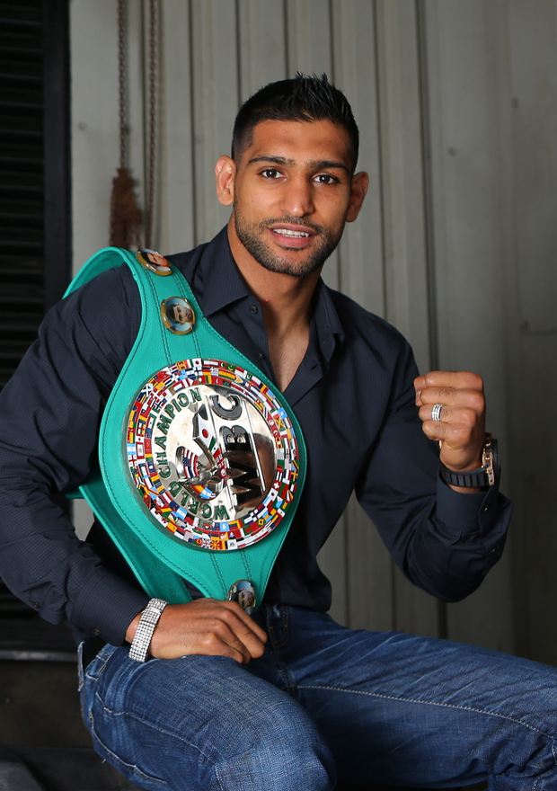 Amir Khan knows he is
