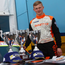 Harper's haul: Dromore High School's Daniel Harper and his impressive trophy collection from his recent outing at Rockington