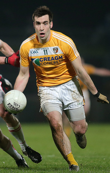 Focused: Kevin Niblock isn't getting carried away with the buzz in Antrim
