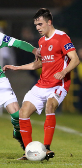 Top form: Mark Timlin has been impressed by his old side Derry