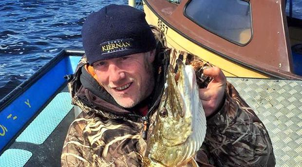 Prize guy: Gerry Jones from Derrygonnelly won the Upper Erne European Predator Challenge with a superb pike of 18lb 10ozs