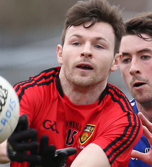 On fire: Donal O'Hare has been in sparkling form for the Mournemen