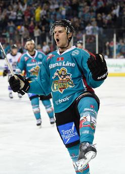 Craig Peacock of the Belfast Giants