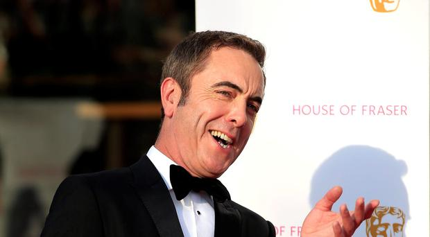 James Nesbitt attending the House of Fraser BAFTA TV Awards 2016 at the Royal Festival Hall, Southbank, London. Pic PA