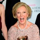 Mary Berry, The Great British Bake Off won best features programme at the BAFTAS. Pic Ian West/PA Wire