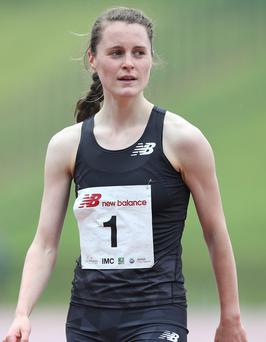 Good show: Ciara Mageean finished strongly in her race