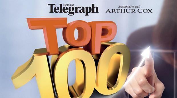 Belfast Telegraph's Top 100 Companies in association with Arthur Cox is out tomorrow
