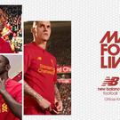 The new Liverpool kit features stand out design features and technologies such as gradiated mesh to allow for increased air movement around the body