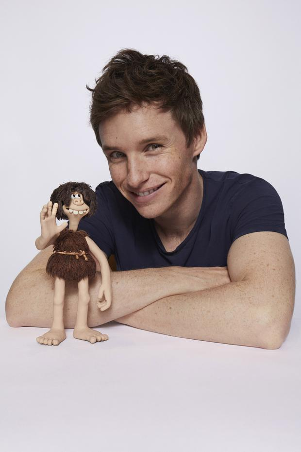 Eddie Redmayne is to voice a caveman in the new Aardman comedy Early Man