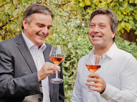 Neil McGuigan with MasterChef star John Torode
