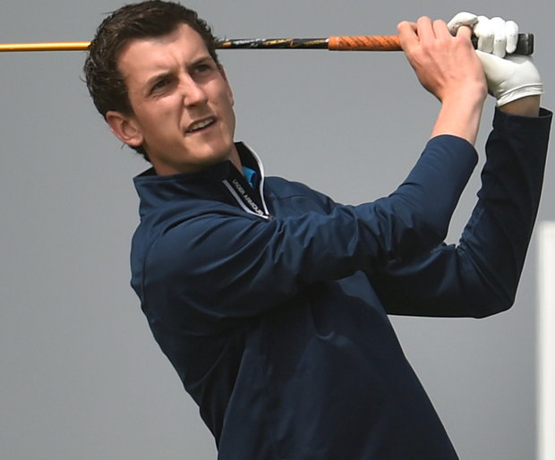 Top man: Tiarnon McLarnon won the 2015 NoI Amateur Open Strokeplay