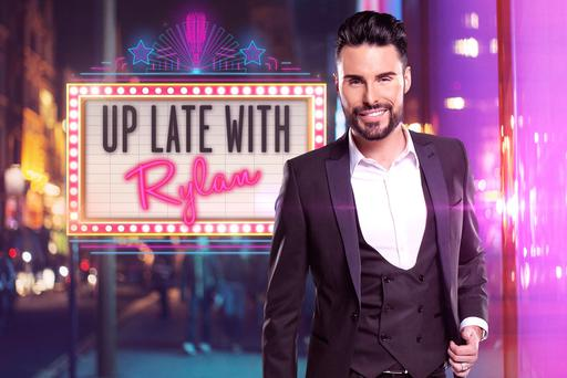 New beginning: Rylan Clark-Neal will be hosting his own chat show on Channel 5 this month