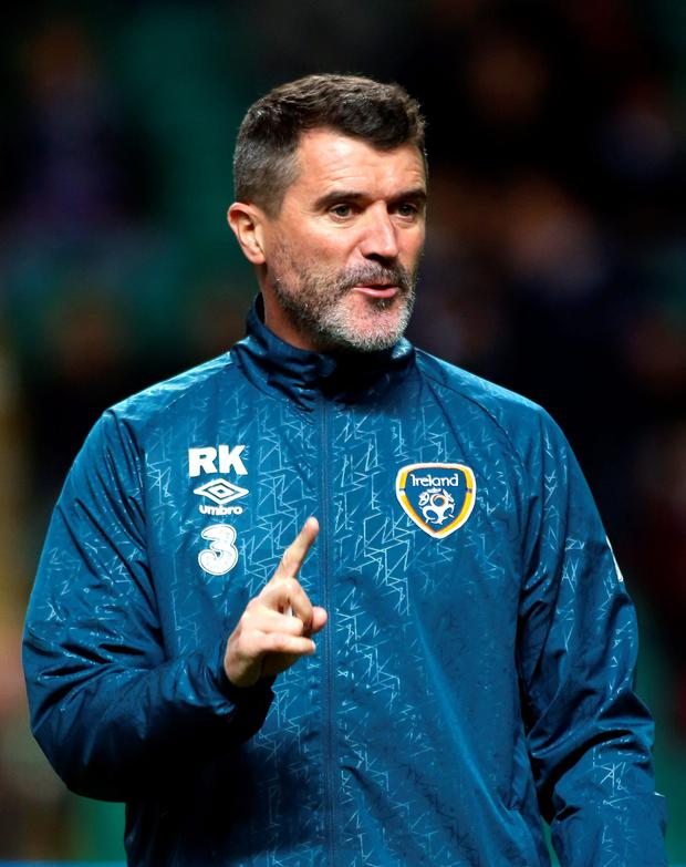 Roy Keane is on pole position for the Celtic manager's post